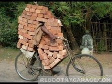 Awkward bicycle problems