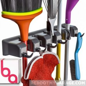 The Berry Ave. Broom and Garden Tool Holder