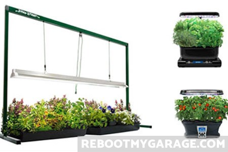 Best Garage Garden Grow Shelves
