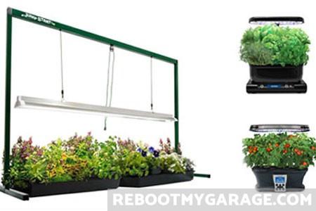 Best Garage Garden Grow Shelves