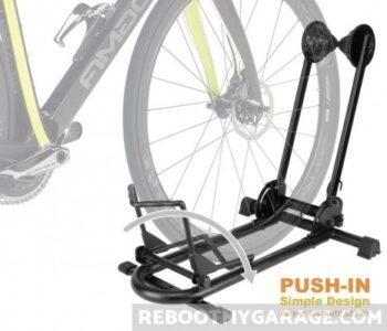 Push the bike into the Bike Hand Rack