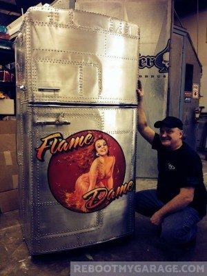 Flame Dame Fridge