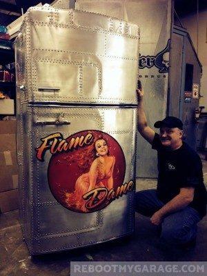Flame Dame Fridge