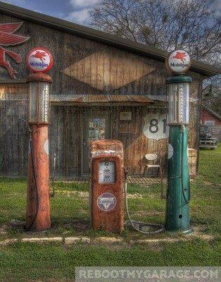 Rusty pumps