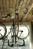 Open ended ceiling bike hook