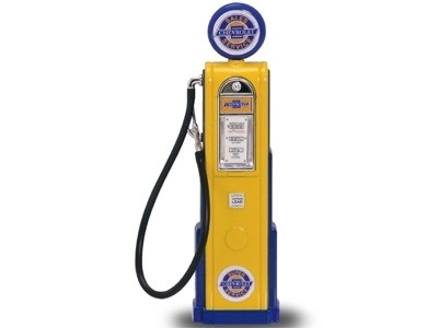 chevy gas pump diecast model