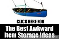Best ways to store awkward items