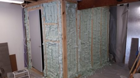 Cold room insulation