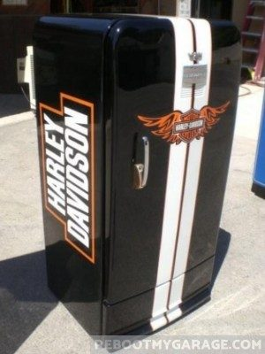 Harley Davidson Fridge