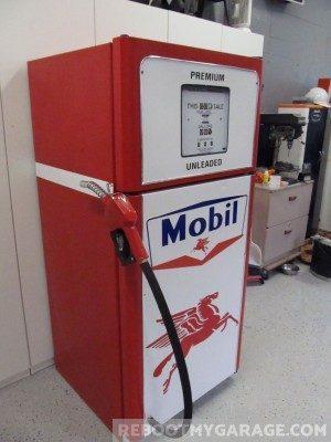 Mobil gas Pump