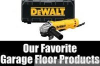 Our Favorite Garage Floor Products