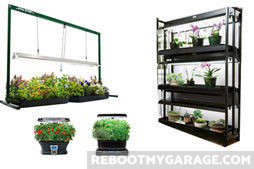 Can I Grow a Garden in My Garage?