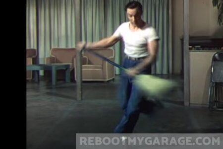 Store Awkward Items as Easy as Gene Kelley's Dancing