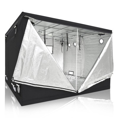 LA Garden Grow tent doors open