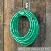 Liberty Garden Hose Hanger with 125 ft. of hose