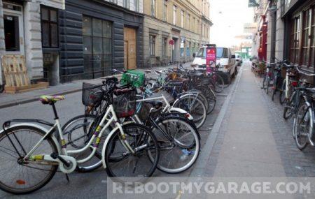 Some tilting bikes