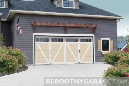 Overhead Courtyard Garage Door