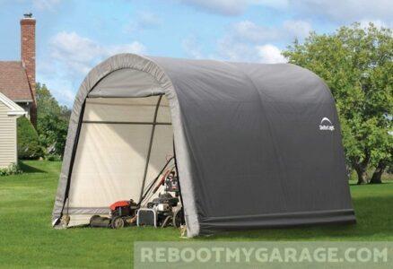 Shelter-Logic Popup Shed Garage