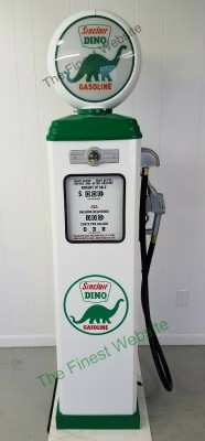 Sinclair Dino Gasoline reproduction gas pump