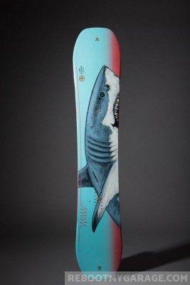 Snowboard shark