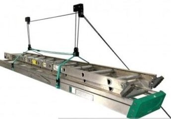 Store Your Board Hi Lift Pro carrying extension ladder