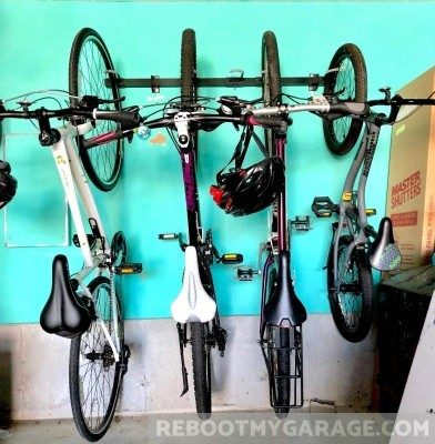 Store Your Board 5 bike adjustable garage