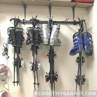 Store Your Board Omni Ski Rack SKis and Boots