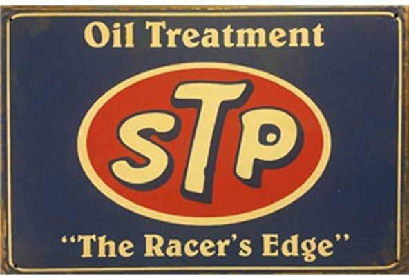 STP Racer's Edge Sign