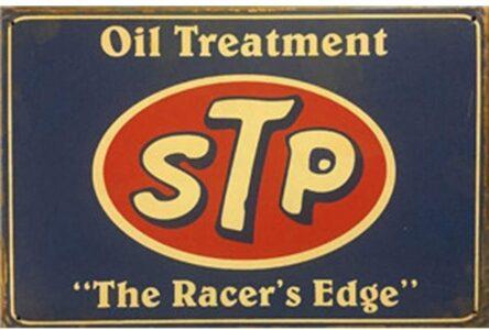 STP Racer's Edge Sign