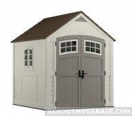Suncast MS7790 Cascade 7x7 Storage Shed