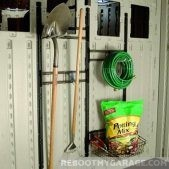 Gardening storage in the shed