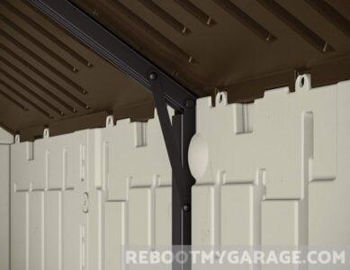 Suncast Cascade Lawn Mower Shed Steel Reinforced