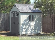 Suncast shed is attractive