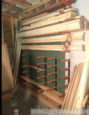 Lumber on the Titan Shelf