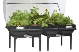 Vegepod raised bed garden