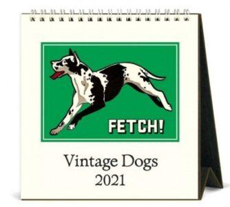 Vintage Dog Calendar