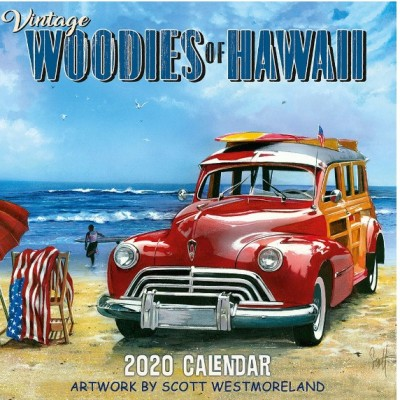 Vintage Woodies of Hawaii calendar