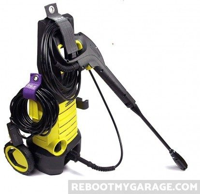 Wrap-It holding pressure washer hoses