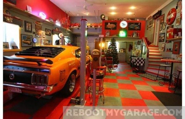 Cuda checker garage