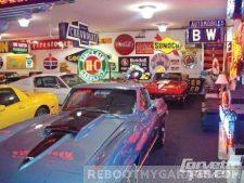 Classic garage art garage