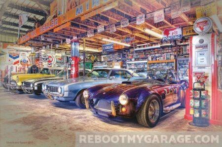 roadster car garage