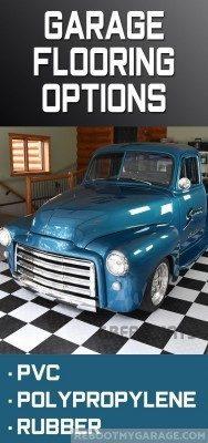 1950's truck garage