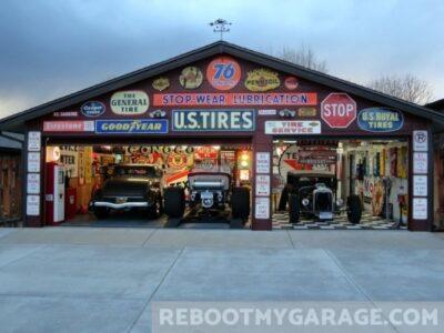 Sports car repair garage