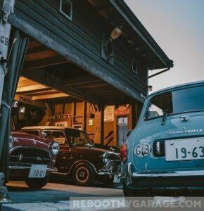 Luxury car garage