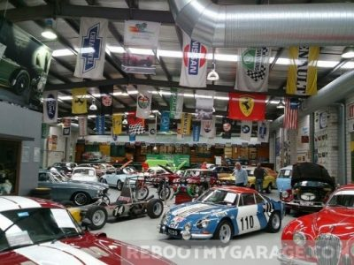 Sports roadster racers garage