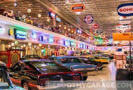 All the neon garage