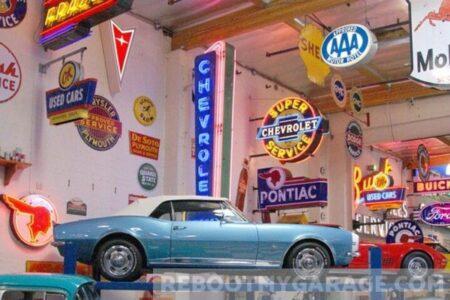 classic car garages