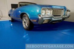 1968 Blue Buick Skylark Convertible on the G-Floor Mat