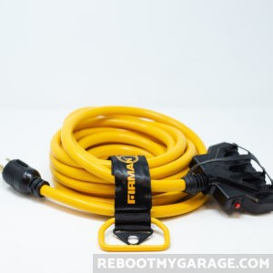 The Firman comes with a 25 ft. power cord.