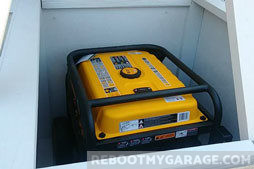 Recommended Generator and Generator Shed Components